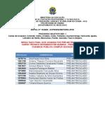 Resultado Final Dos Candidatos - Prioridade 2 - Chamada Pública - Campus de Quixadá (1)