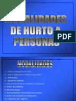 MODALIDADES DE HURTO