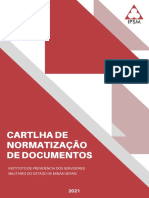 Cartilha de Normatização de IPSM