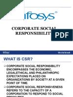 Infosys Csr 1
