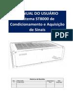 Manual do Usuário Rack ST8000 R1