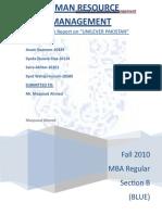 HRM final report