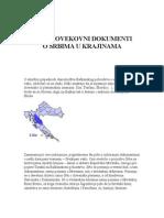 Srednjevekovni-Dokumenti-o-Srbima-u-Krajinama