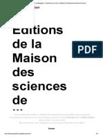 Imaginaires archéologiques - Le poète dans la caverne - Éditions de la Maison des sciences de l'homme