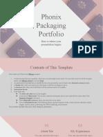 Phonix Packaging Portfolio by Slidesgo