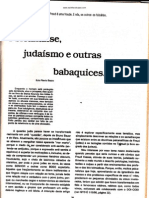 Psicanalise, judaísmo e outras babaquices