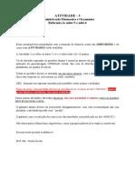 Atividade III ( CORRETA)