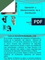 Operacion y Mantenimineto de Distribuciòn