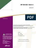 NF EN ISO 15614-1 - 2017