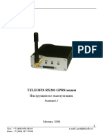 User Guide Teleofis RX201 v1.3