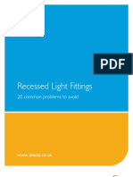 20 Common Problems Recessed Lighting