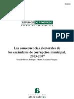 Los escándalos de corrupción municipal 2003-2007