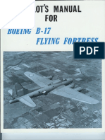 Pilots Manual for Boeing B-17 Flying Fortress