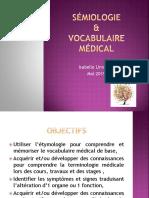 Vocabulaire Medical&Professionnel2019