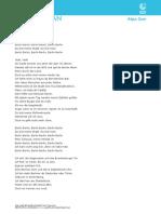 AlpaGun Lyrics Deutsch