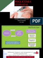 Expo- Hipoglicemia Neonatal