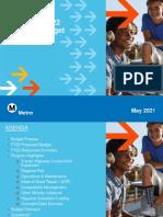 Metro FY22 Budget - Outreach Presentation- Final