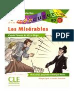 Les misérables en BD (CLE international)