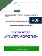 Prezzario Prezzi Parametrici 09 2011 All d