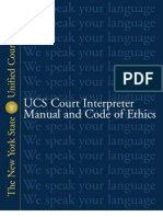 Court Interpreter Manual