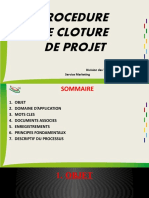 Cloture Des Projets 1