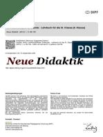 NeueDidaktik 1 2012 Szojnik Lehrbuchanalyse Erdkunde