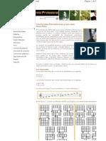 partituras - escalas pentatonicas y sus usos