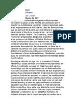 Los Piqueteros Intelectuales. Por Mario Vargas Llosa