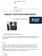 manual traker tk103b em portugues rh scribd com rastreador veicular tk103b manual portugues rastreador veicular tk103b manual portugues