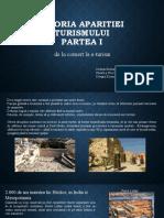 Istoria Aparitiei Turismului Partea 1