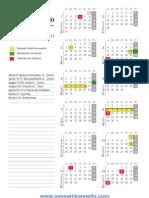 Calendario 2011 - CCN Il Castello Sassari