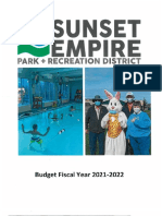seaside park district budget