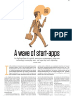 """Washington Post """"A Wave of start-apps"""" (3-7-11)"""