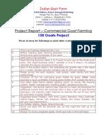 Goat Farming Project Report Pdf