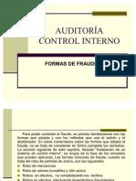 Control Interno Formas de Fraude