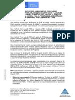 Convocatoria Banco de Docentes Hora Catedra Territorial No 2 v.final