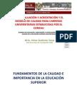 Exp1 UNSCH AUTOEV.ACRED. Y EL MODELO DE CONEAU EN ENFERMERIA E ING