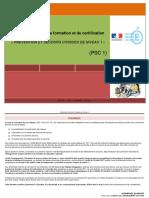 Référentiel PSC1 éducation nationale