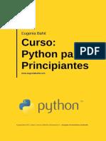 Curso de Python Para Presipiande