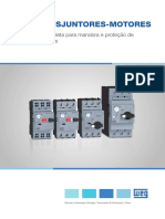 WEG Disjuntores Motores Linha Mpw 50009822 Catalogo Portugues Br Dc