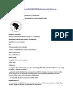 Plan Afrique