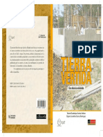 PORTADA Tierra Vertida - Una Tecnica Olvidada