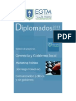Diplomados virtuales a distancia de La EGTM
