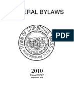 General Bylaws Updated 2010