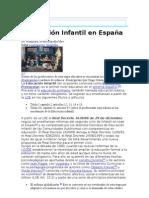 Educación Infantil en España WIKIPedia