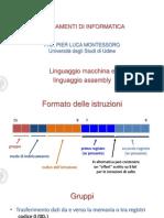 02 Linguaggio Macchina e Assembly