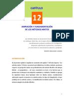 Ampliación y fundamentación de los métodos mixtos