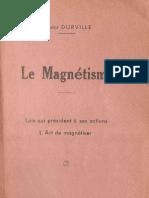 Durville Le Magnetisme