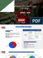 Relevamiento de Precios CESyAC ABRIL 2021 · Rosario