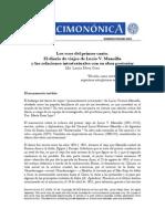 Lucio V. Mansilla por Pérez Gras para Revista Decimonónica